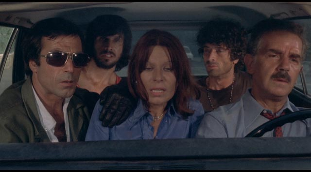 Claustrophobia breeds escalating madness in the moving car in which Mario Bava's Rabid Dogs takes place