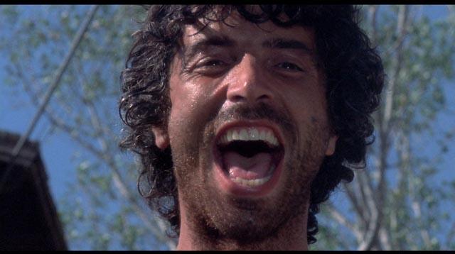 """Don Baky as the sociopathic """"Blade"""" in Mario Bava's Rabid Dogs (1974)"""