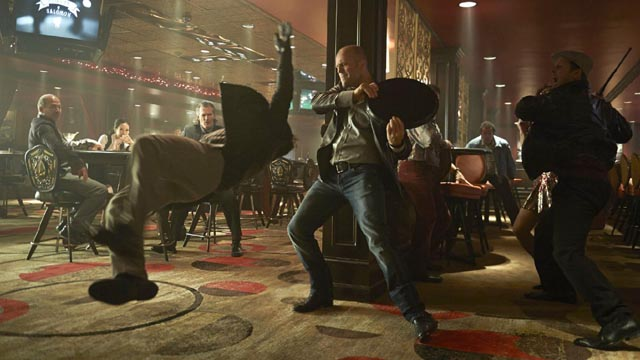 Jason Statham tries to stave off boredom by kicking ass in Wild Card (2015)