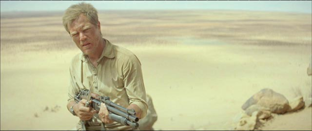 Michael Shannon protects his arid homestead in Young Ones (2014)