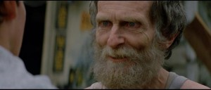 The great Roberts Blossom as the creepy old geezer who sells the car to Arnie in John Carpenter's Christine (1983)