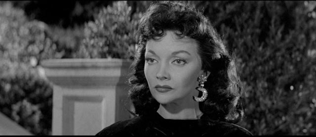 Being brought back from the edge of death makes Kyra both sexy and dangerous in Kurt Neumann's She Devil (1957)