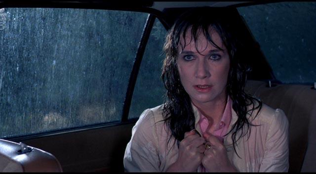 Dario Argento's one-time muse Daria Nicolodi in Tenebrae (1982)