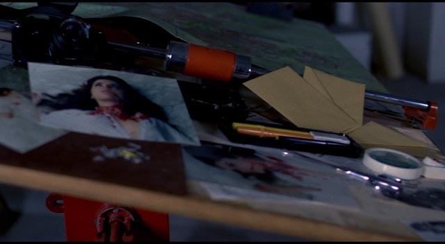 Evidence of violence is fetishized in Dario Argento's Tenebrae (1982)