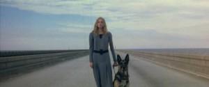 Cinzia Monreale, the blind seer of Lucio Fulci's The Beyond (1981)