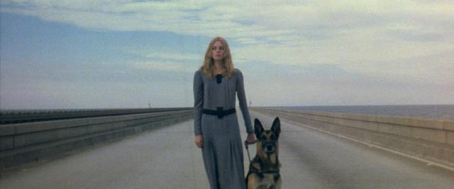Cinzia Monreale, the blind seer of Lucio Fulci's The Beyond (1981)