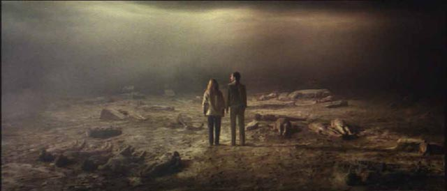 No escape: Catriona MacColl and David Warbeck trapped in Hell in Lucio Fulci's The Beyond (1981)