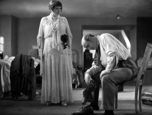 Harry Bauer as David Golder with Paule Andral as his wife Gloria in Julien Duvivier's 1931 film