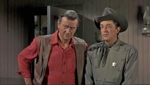 John Wayne and Robert Mitchum add their star authority to Howard Hawks' leisurely western, El Dorado (1966)