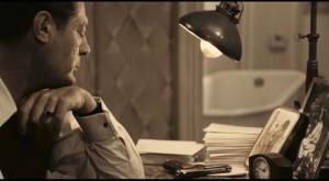 Marcello Mastroianni as Gabriele, contemplating an escape from oppression in Ettore Scola's A Special Day (1977)