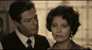 Marcello Mastroianni and Sofia Loren in Ettore Scola's A Special Day (1977)