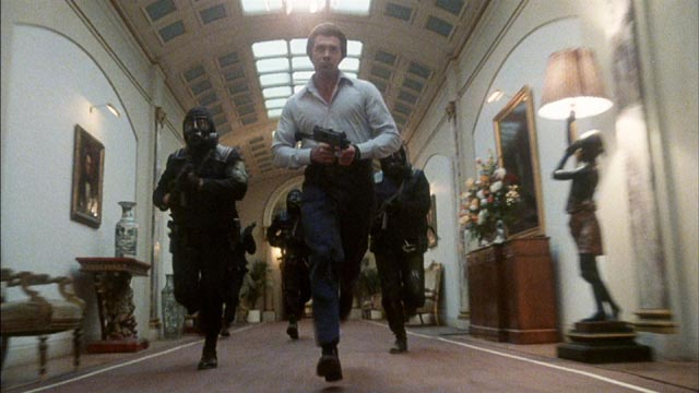 Lewis Collins as the SAS hero in Ian Sharp's Who Dares Wins (1982)