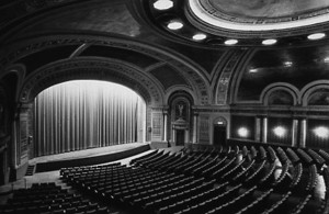 The interior of Winnipeg's largest and most beautiful theatre, the Capitol on Donald Street (Western Canada Pictorial Index)