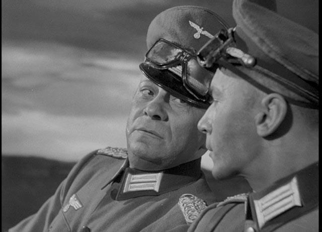 Erich von Stroheim and Martin Kosleck as sadistic Nazis in Lewis Milestone's Armored Attack