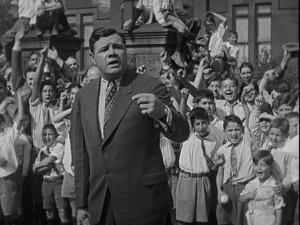 Babe Ruth as himself in Harold Lloyd's Speedy (1928)