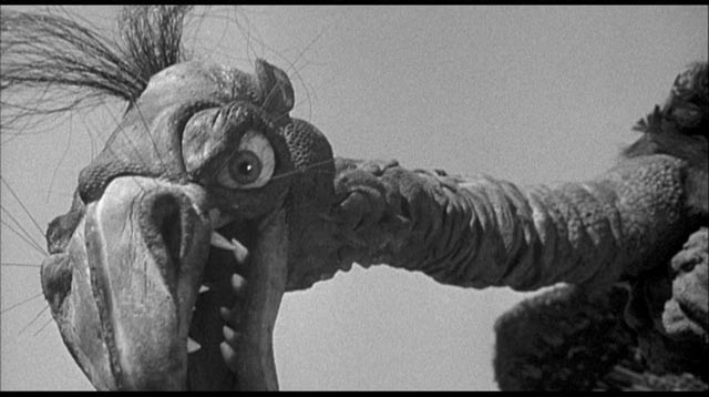 How adorable can a '50s movie monster be? Not much more than this one from Fred F. Sears' The Giant Claw (1957)