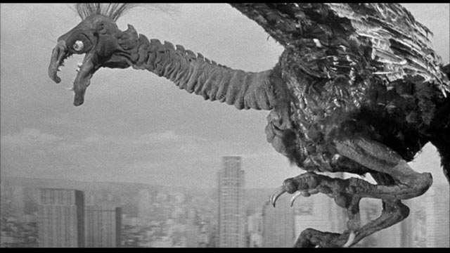Fred F. Sears' The Giant Claw (1957), a landmark in the decade's development of special effects