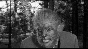 The unfortunate Duncan Marsh (Steven Ritch) in Fred F. Sears' The Werewolf (1956)
