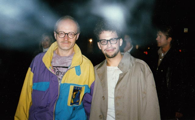 One of many night shoots: on location with Jon Cryer on Paul Shapiro's Heads (1994)