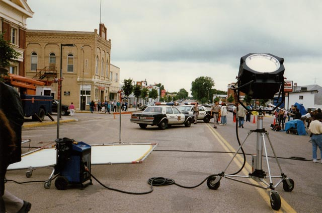 Shooting Paul Shapiro's Heads (1994) on the not-so-mean streets of Neepawa, Manitoba