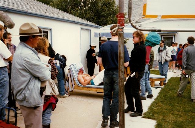 Suburban backyard hijinks on Paul Shapiro's Heads (1994)