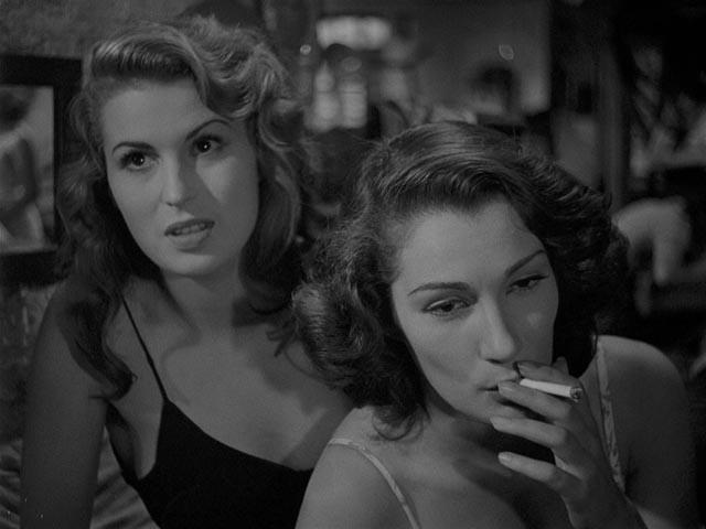 Silvana Mangana and Doris Dowling as two women trying to survive in postwar Italy in Giuseppe De Santis' Bitter Rice (1949)