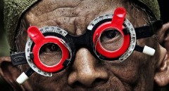 The eyes of a killer in Joshua Oppenheimer's The Look of Silence (2014)