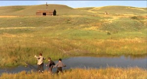 The barn with cross in Philip Ridley's The Reflecting Skin (1990) was discovered exactly as is on location in Alberta