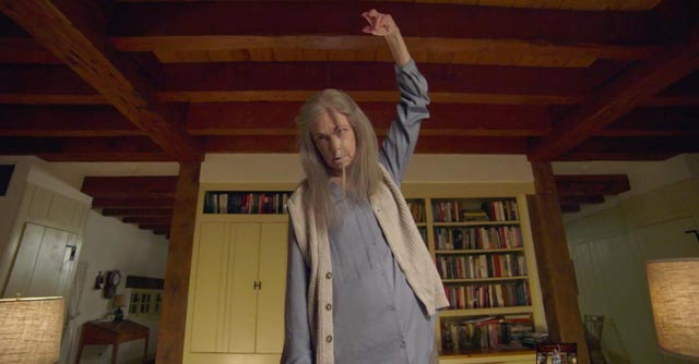 "Nana (Deanna Dunagan) has one of her ""turns"" in M. Night Shyamalan's creepy The Visit (2015)"