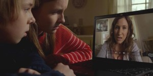 A mother's nightmare: instant digital access to her kids, but no way to get them out of imminent danger in M. Night Shyamalan's The Visit (2015)