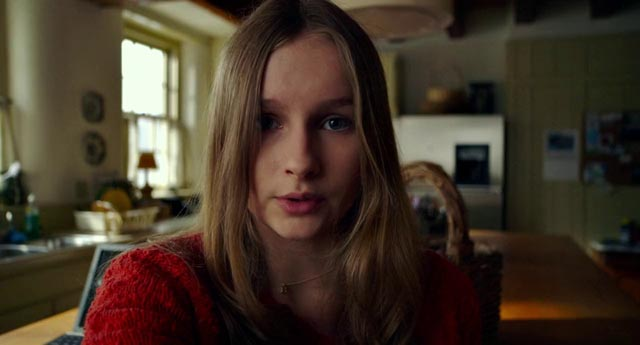 Olivia DeJonge as precocious filmmaking teen Becca in M. Night Shyamalan's The Visit (2015)