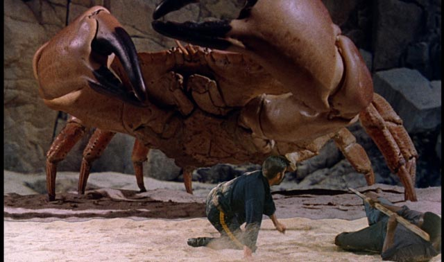 An impressive stop-motion creation by Ray Harryhausen in Cy Endfield's Mysterious Island (1961)