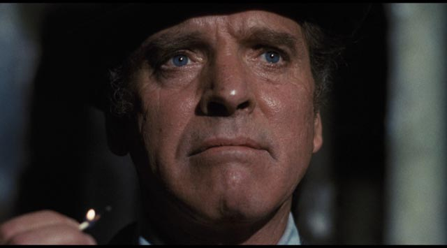 Burt Lancaster as ageing CIA assassin Cross in Michael Winner's Scorpio (1973)