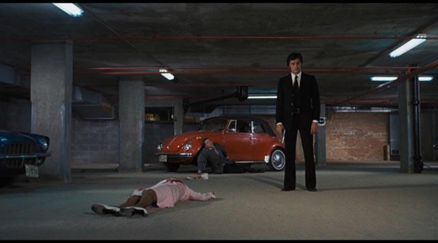 Alain Delon as cold-blooded killer Scorpio in Michael Winner's 1973 thriller