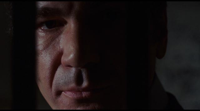 John Colicos as CIA boss McLeod: the face of a corrupt bureaucracy in Michael Winner's Scorpio (1973)