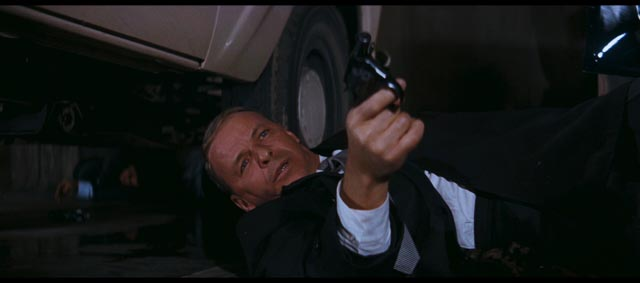 "One of the few ""action"" moments in Gordon Douglas' The Detective (1968)"