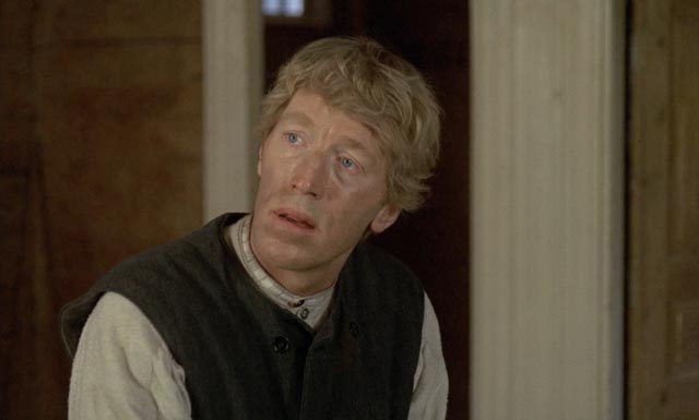 Max Von Sydow as hard-working farmer Karl Oskar in Jan Troell's The Emigrants (1971)