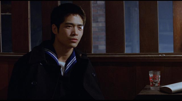 Honey (Lin Hung-ming), an idealized rebel as lost as the other kids in Edward Yang's A Brigher Summer Day (1991)