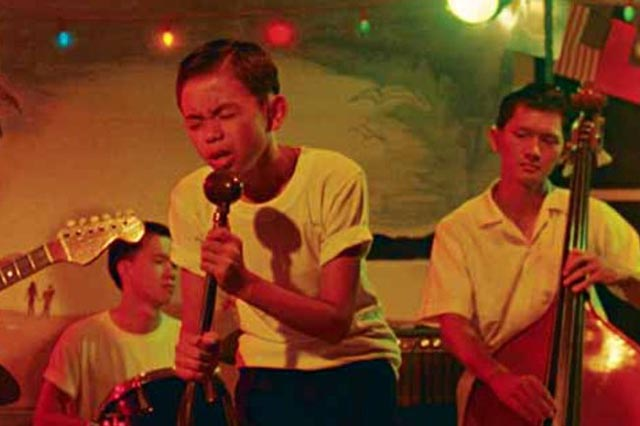 Cat (Wang Chi-tsan) dreams of Elvis in Edward Yang's A Brighter Summer Day (1991)