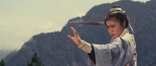 The swordswoman takes centre stage in King Hu's wuxia: Lingfeng Shangguan in Dragon Gate Inn ...