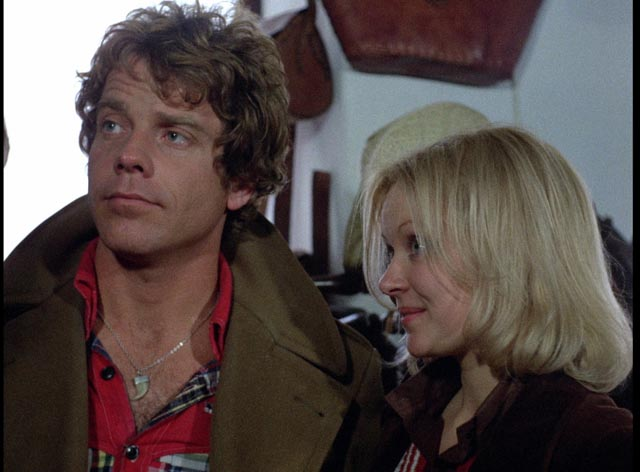 Robert Behling and Jane Lyle as the perverted couple wreaking havoc on Mykonos in Island of Death (1976)