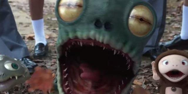 The mean critters in Takashi Murakami's Jellyfish Eyes (2013)