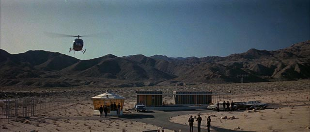 A hi-def transfer greatly improves the visuals in John Sturges' The Satan Bug (1965)