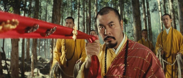 Roy Chiao as Abbot Huiyuan in King Hu's A Touch of Zen (1971/75)