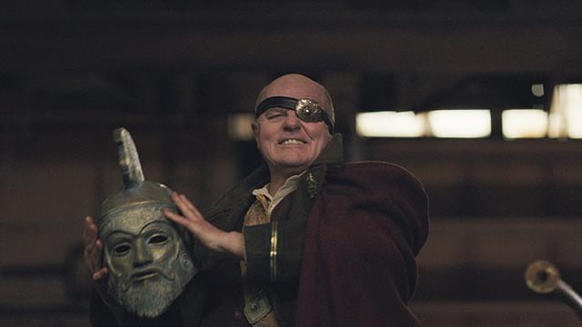 Michael Ironside as Zeus, the vicious ruler of the wasteland in Turbo Kid (2015)