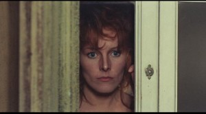 Anita Strindberg as the tormented wife in Sergio Martino's Your Vice Is a Locked Room and Only I Have the Key