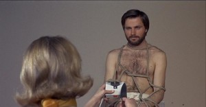 Franco Nero as artist Leonardo Ferri, trapped by the demands of a material world in Elio Petri's A Quiet Place in the Country (1968)