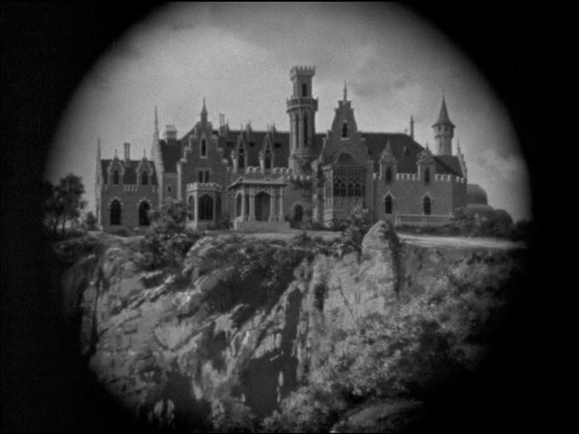 Dragonwyck, the quintessential old mansion perched on a clifftop in Joseph L. Mankiewicz's Dragonwyck (1946)