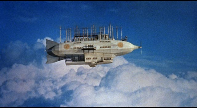 The flying Nautilus ... ooops, Albatross in William Whitney's Master of the World (1961)