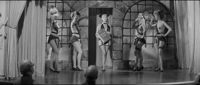 Maisie's big number at the strip club in Val Guest's Expresso Bongo (1959)
